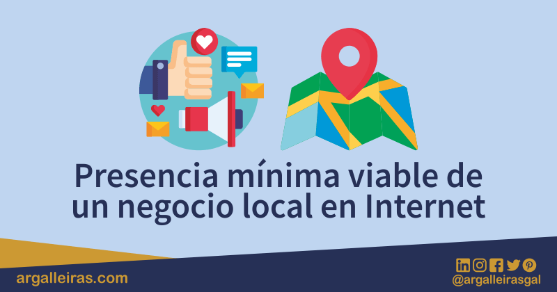 Presencia mínima viable de un negocio local en Internet