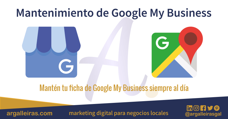 Mantenimiento y Actualización de Google My Business