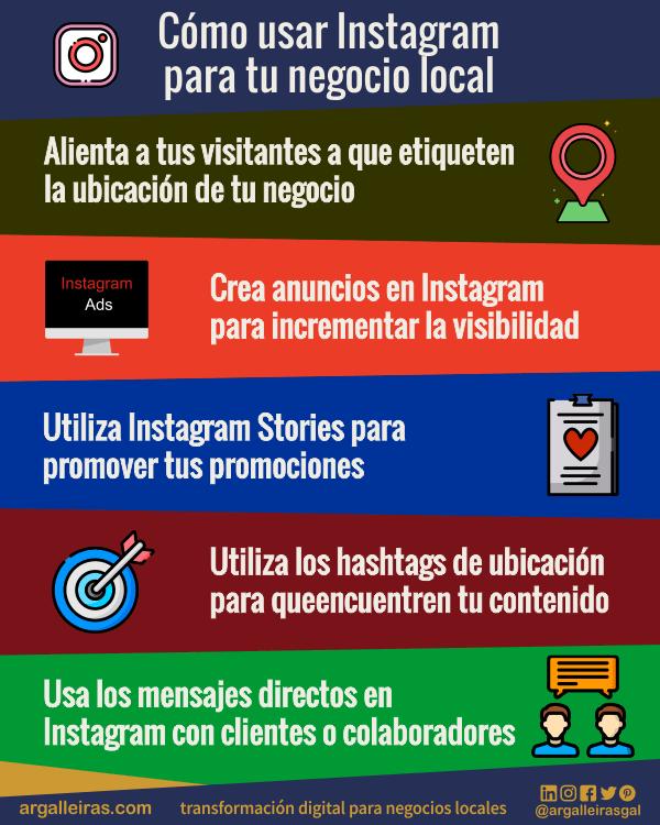 Cómo usar Instagram para tu negocio local