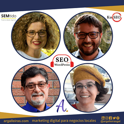 Entrevista a Argalleiras & Co. en el podcast SEO para WordPress