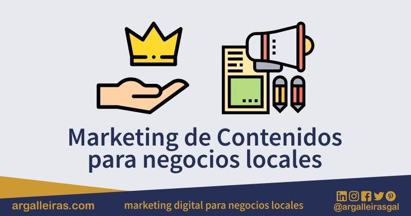 Marketing de contenidos para negocios locales